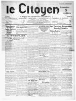 Janvier 1912 - Site en travaux, le week