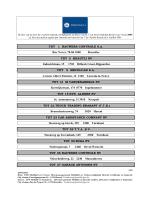 liste des ateliers