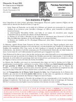 Feuille Paroissiale du 18 mai 2014 - Paroisse Saint