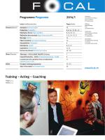 Programme 2014/1
