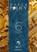 PDF Version - World Policy Conference