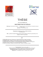 THËSE - Accueil thèses