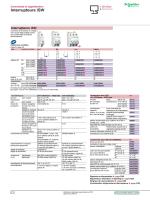 Interrupteurs iSW - Schneider Electric