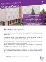 Marie-Curie 1 - (CROUS) de Poitiers