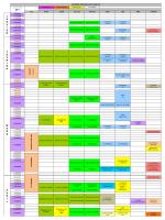 CALENDRIER CONCOURS COTE D AZUR 2015