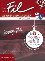 Le Fil : décembre 2014 - Horbourg-Wihr