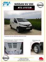 Nissan NV200 - poclain vehicules