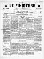LE FINISTERE DU SAMEDI 05 AU SAMEDI 26 MARS 1910