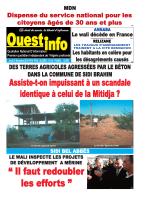 Jeudi 25 Décembre 2014 - Ouest-info
