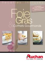 Coffrets Gourmands Recettes incluses