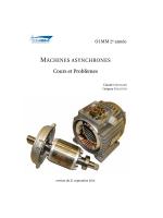 cours sur les machines asynchrones au format PDF
