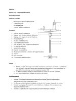 Kitvision Perche pour autoportrait Bluetooth Guide d`utilisation