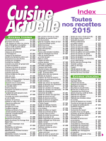 Télécharger l`index 2015