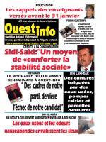 Lundi 04 Janvier 2016 - Ouest-Info