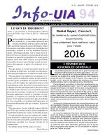 Info UIA n°91-3 - Université Inter-Ages de Créteil et du Val-de