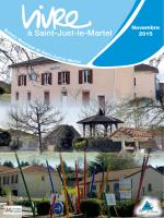 Bulletin municipal novembre 2015 - La mairie de St-just