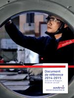 Document de référence 2014-2015
