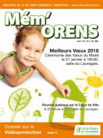 Meilleurs Vœux 2016 - Saint-Orens-de