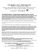 Télécharger la liste - ELCR : Enchères Lyon Croix Rousse