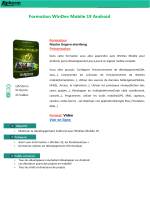 Formation WinDev Mobile 19 Android