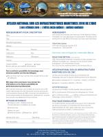 atelier national sur les infrastructures maritimes 2016 de l`ibic