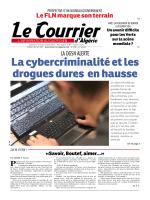 La cybercriminalité et les drogues dures en hausse