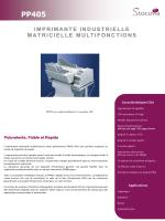 Imprimante matricielle multifonction PSi PP405