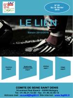 Bulletin football n°22 fevrier 2016