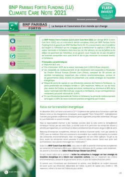 flash invest - BNP Paribas Fortis