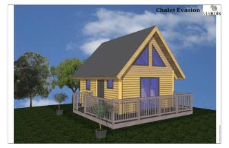 Chalet Évasion - Maisons et chalets en bois rond.