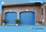 porte de garage - GEF Production