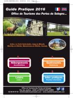 Guide Pratique 2016 - Office de Tourisme
