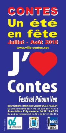 Brochure du Festival Païoun Ven 2016 - ville