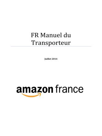 AMAZON - Transport CDC