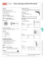 Fiche technique SD14-H15-5,5x32
