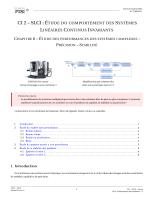 SLCI - Performance des systèmes - Les SII en PTSI PT