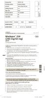 Modopar® 250 (200 mg/50 mg)