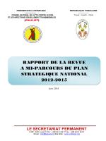 rapport de la revue a mi-parcours du plan strategique national 2012
