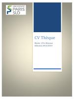 CV Thèque - m2prestel