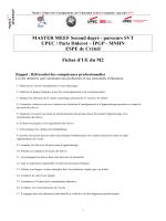 télécharger les fiches UE - Université Paris Diderot