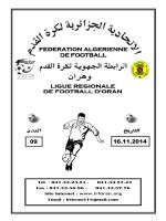 LIRE - Ligue Régionale de Football Oran