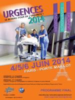 Programme - congrès Urgences