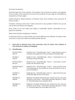Paramètres - Dr. H. Marx GmbH
