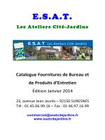 ESAT Les Ateliers Cité