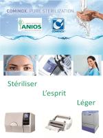 Autoclaves COMINOX SterilClave - fournisseur de matériel médical