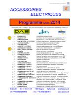 Catalogue (8) accessoires électriques 0314.pub