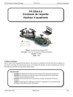 TP CEA-5.2 Cordeuse de raquette Hacheur 4 quadrants