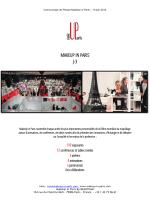 MAKEUP IN PARIS J-3