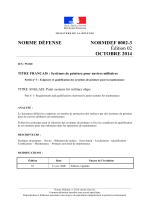 NORME DÉFENSE NORMDEF 0002-3 Édition 02