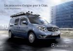Original Zubehör für den Citan - Mercedes